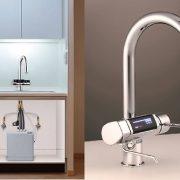 Thiết kế cho không gian căn bếp rất gọn gàng, tinh tế và đẳng cấp